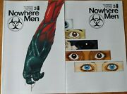 Nowhere Men 3 1st And 2nd Printing Image 2013 Comic Books