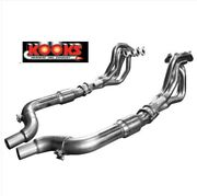 2015-21 Mustang Gt 5.0 Coyote 1-7/8andprime X 3andrdquo Kooks Headers Race Catted Pipes Cats