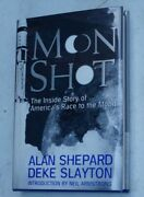 1994 Moon Shot By Deke Slayton And Astronaut Alan Shepard Signed 1st Edition Book