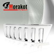New Jeep Grand Cherokee 99-04 Vertical Abs Front Bumper Hood Grille Grill Chrome