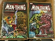 Man-thing By Steve Gerber Volumes 1 And 2 Trade Paperbacks