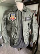 Usaf 1970andrsquos Pilot Cwu-45/p Cold Weather Mil-j-83388 Nomex Flight Jacket Small ✅