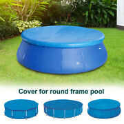 Above Ground Swimming Pool Cover For Winter Round Safety Pe Blue 280/335cm S/l