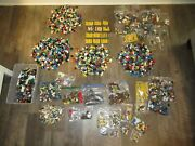 Huge Lot Of Lego Minifigures And Accessories 10lbs 11oz Super Heroes Star Wars Fig