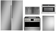 Monogram Pro Package With 48 Dual Fuel Range 30 Column Refrigerator And Freezer
