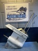 Ip7810 Evinrude Johnson Omc V-4 Lower Unit Gear Case Assy Dual Water Tube 88-115