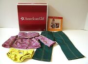 American Girl Ivy's Meet Outfit New In Box With Pamphlet