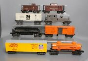 Lionel And Kmt Vintage O Assorted Freight Car Lot 6457, 63132, 6042, 6420 [8]
