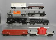 Lionel Vintage O Assorted Freight Car Lot 6014, 6462, 6012, 3520, 2461 [8]