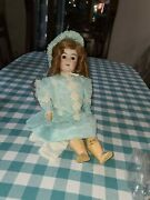 Belton Type C/m Bisque Head Doll With Ball Jointed Body