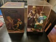 Disney Fairytale Designer Series Collection Rapunzel And Flynn Tangled Brand New