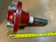 10 Salford 10018040 4000 Lb Red Complete Hub And Spindle Assembly W/ Bolts Pntd