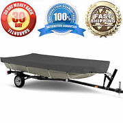 Jon Boat Storage Cover- Waterproof Dust And Uv Resistant 14ft L X 52in W