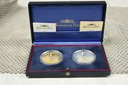 2001 France Gold And Silver Euro Conversion Coins Proof Set