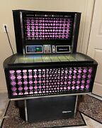 Seeburg Jukebox Needs Tune Up. 45and039s Included