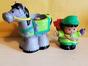 Fisher Price Little People Lil Kingdom Robin Hood And His Horse 2003
