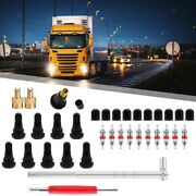 Tire Valve Stem Tool Remover Installation Set Valve Cores Fit For Car Truck