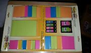 Lot 2 Post-it Super Sticky Notes And Flags Combo Packs Rio De Janeiro Collection