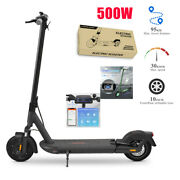 Electric Scooter 500w Motor Folding Commuter 10-inch E-scooter Led Display