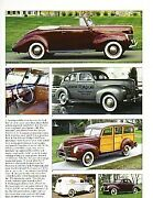 1940 Ford + Convertible + Woody Station Wagon + Sedan Delivery Article