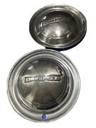 Pair Of Vintage 1950and039s Dodge 15 Hubcaps - Made In Usa - Man Cave