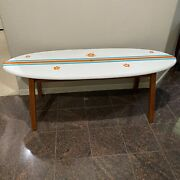Pottery Barn Surfboard Coffee Table - Local Pick Up Only