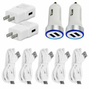 For Samsung Galaxy S8 S9 10 A32 A42 A52 Fast Usb Car Wall Charger Type C Cord 1m
