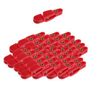 40pcs Adjustable Snap Weight Release Clip Outriggers Clips Offshore Fishing