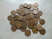1936 Roll Of Lincoln Wheat Cents Pennies Unsearched