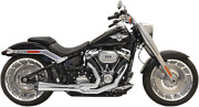 Bassani 2-1 Chrome Road Rage Exhaust For 18-20 Harley Flfb Fxbr Fxdrs