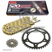 Chain Set Ktm Sc 620 Lc4 Super Competition 00-01 Chain Rk Gb 520 Zxw 118 Gold