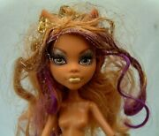 Monster High - Nude - Clawdeen Wolf - 13 Wishes Doll - Amazing Makeup