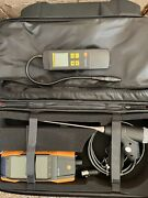 New Testo 300 Combustion Safety Kit W/ Gas Leak Detector 2 Temperature Probes