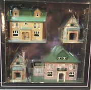 Mth 192 Villa Set O Gauge Tinplate Traditions 10-1110 New In Sealed Box