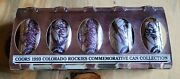Coors 1993 Colorado Rockies Opening Day Beer Can Set -5 Different Cans/stay Tabs