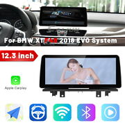 For Bmw X1 F48 2018 Evo 12.3 Ips Android Car Stereo Radio Gps Navigation 4+64g