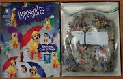 Bepuzzled Impossibles Puzzle Raining Cats And Dogs 750 Piece Borderless Puzzle