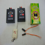 A02 2 Cues Fireworks Firing System Transmitter Radio Fire Remote Wireless Switch