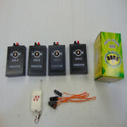 A04 4 Cues Wireless Switch Fireworks Firing System Transmitter Radio Fire Remote