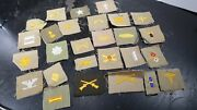 Wwii Era Us Army Rank And Branch Patches