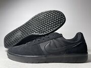 Nike Menand039s Sb Team Classic Skate Shoes Black Ah3360-004 Low Top Lace Up 10.5 New