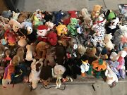 Beanie Babies Lot Around One Hundred Few That Are Very Rare And Hard To Find