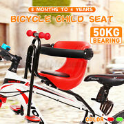 Child Bicycle Seat Kids Saddle Children Safety Front Seat For Mountain Bike Use