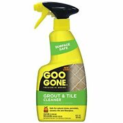 Goo Gone Grout And Tile Cleaner - Stain Remover - 14 Fl. Oz