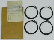 New Omc Outboard Marine Corp Boat Cap Retaining Ring Lot Of 4 Part No. 308804