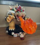 Bowser Exclusive Statue Day One - F4f First 4 Figures - Official Nintendo - Oop