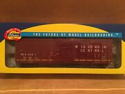 Ho Athearn Rtr Wisconsin Central 50' Ps 5344 Boxcar Wc 25001 Metal Wheels