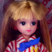 Licca-chan Cute Macnaldoand039s Capacity 1989out-of-print Difficult To Obtain Used