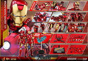 1/6 Hot Toys Exclusive Iron Man Mkvii Mms500d27 Avengers Mark 7 Diecast Last One