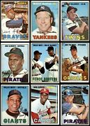 1967 Topps Baseball Low Number Complete Set 2.5 - Gd+